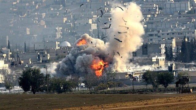 Intense Air Raids on Edge of Syria's Rebel-Held Idlib