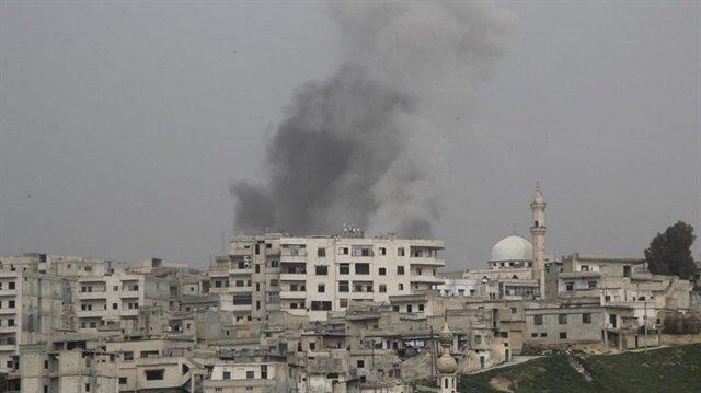 İdlib'e bomba yağıyor