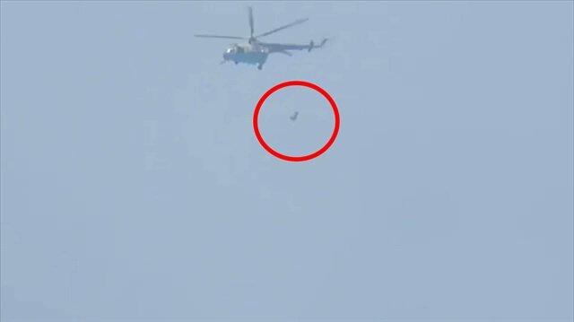 Esed'in helikopterleri varil bombaları yağdırıyor!
