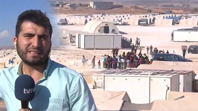 TVNET ekibi İdlibte