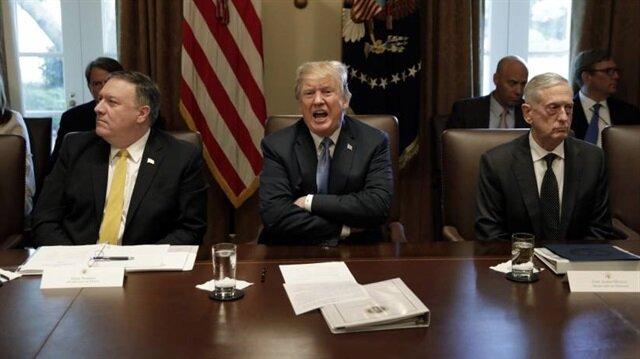 ABD Başkanı Trump, Dışişleri Bakanı Mike Pompeo ve Savunma Bakanı Mattis, Asya ve Güney Asya konusunda Çin'e karşı sert politikalar izlenmesi gerektiğini savunuyor.