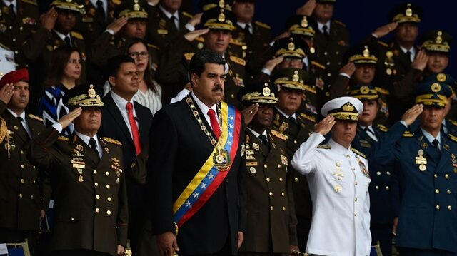 Maduro geçtiğimiz günlerde suikast girişiminden son anda kurtulmuştu.