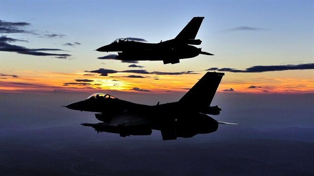 TSK'dan yapılan açıklamada Irak'ın kuzeyine yönelik hava harekatına dair bilgiler paylaşıldı.