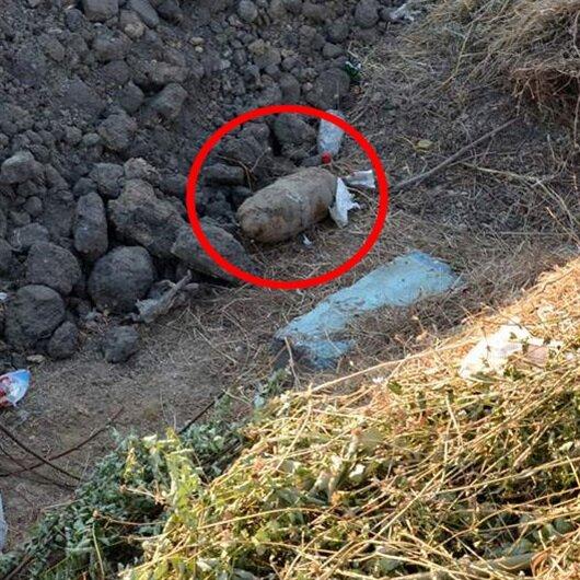 Gelibolu'da patlamamış 'top mermisi' bulundu