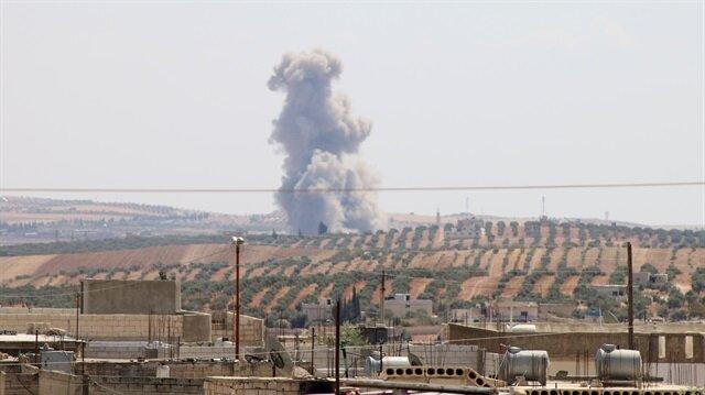 Esed rejimi hastaneyi varil bombalarıyla vurdu