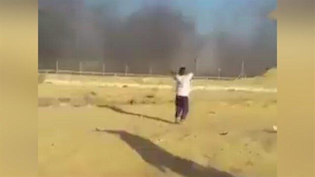 İşgalci İsrail Filistinli Ahmed'i böyle şehit etti