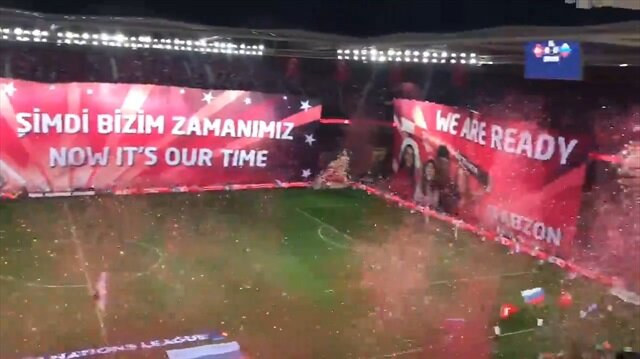 Trabzon'da muhteşem koreografi
