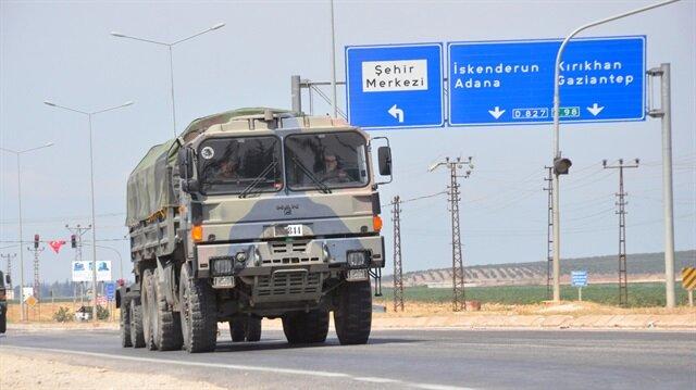 Reyhanlı sınırına askeri sevkiyat