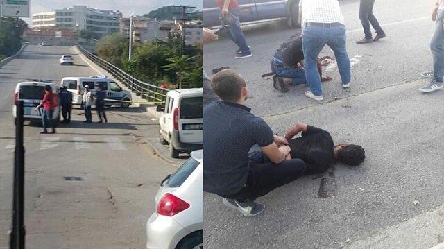 Otobüs durağında katliam: 'Şeytanım' dedi 2 kişiyi öldürdü!
