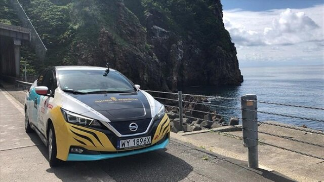 16 bin kilometre yol kat eden Nissan Leaf
