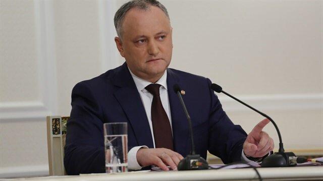 Moldova Cumhurbaşkanı Igor Dodon