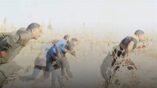 Esed rejiminden sivil savunmacılara hain saldırı!