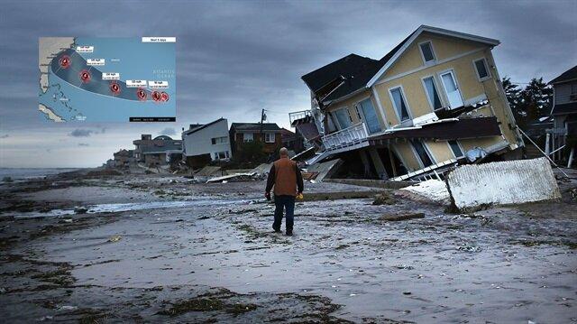 ABD'nin doğu kesiminde 'Florence' adlı tropikal fırtına etkili olacak.
