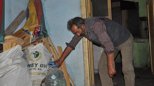 Kars'ta 62 yaşındaki evsiz vatandaş derme çatma bir gecekonduya yerleştirildi