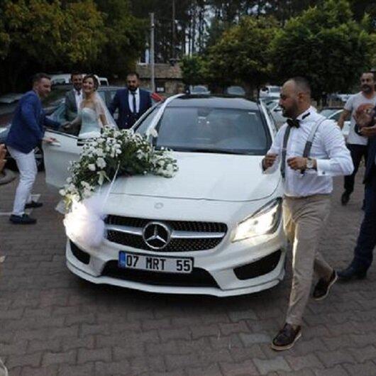 Düğünü haciz memurları bastı: Cebimdeki bütün para bu
