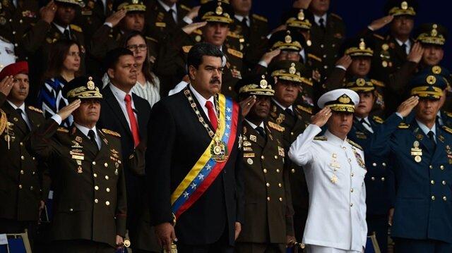 ABD'nin geçtiğimiz yıl darbe planıyla devirmeye çalıştığı Venezuela Devlet Başkanı Nicolas Maduro'ya geçtiğimiz ay da suikast düzenlenmişti.