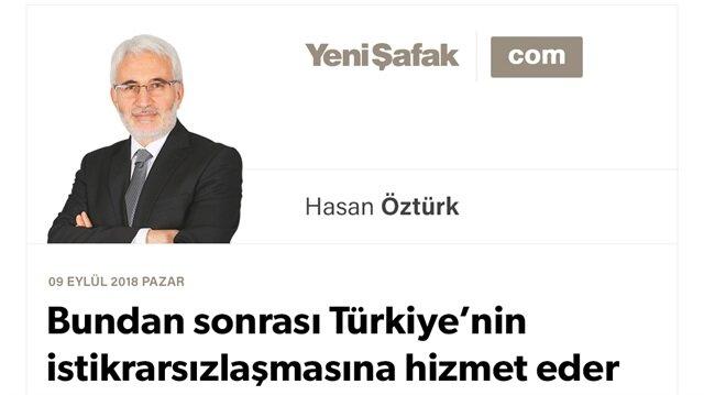 Bundan sonrası Türkiye'nin istikrarsızlaşmasına hizmet eder