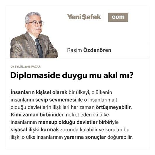 Diplomaside duygu mu akıl mı?