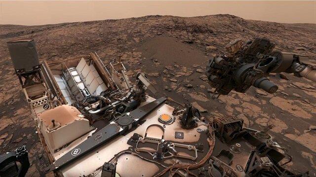 Mars'taki keşif aracı Curiosity