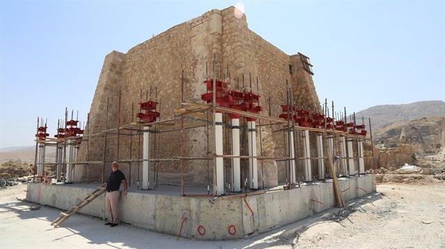Hasankeyf'teki tarihi eserler bir bir taşınıyor