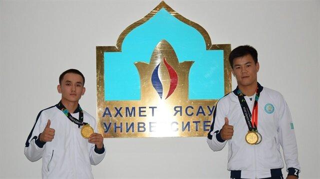 Ahmet Yesevi Üniversitesi 18. Asya Oyunlarına katıldı