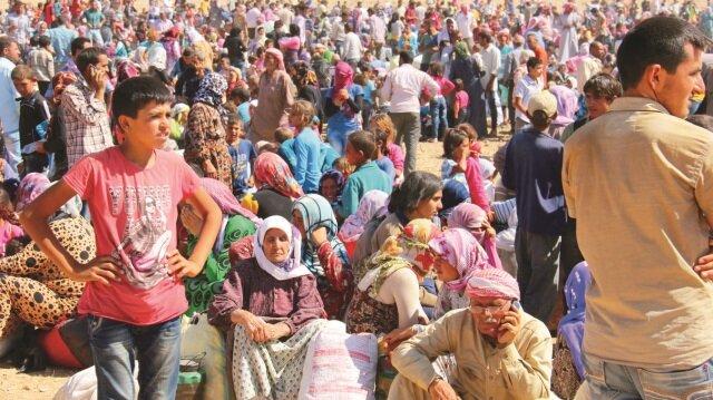 Türkiye'de 4,5 milyon mülteci bulunuyor.