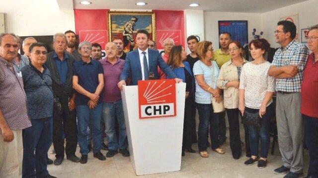 CHP Afyonkarahisar İl Başkanı Savaş Erdoğan ve il yönetim kurulu üyeleri istifa etti.