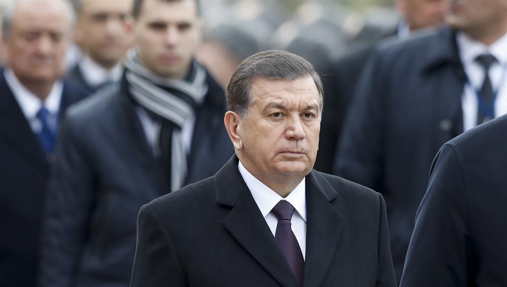 Cumhurbaşkanı Şevket Mirziyoyev, iki yıldır iktidarda.