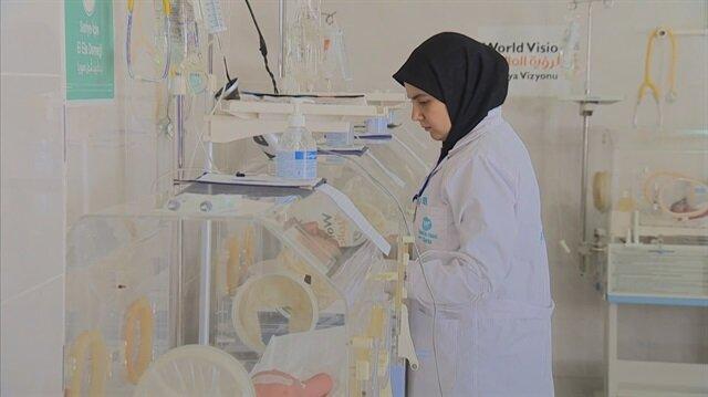 Suriye'de ayda 10 bin mülteci tedavi ediliyor
