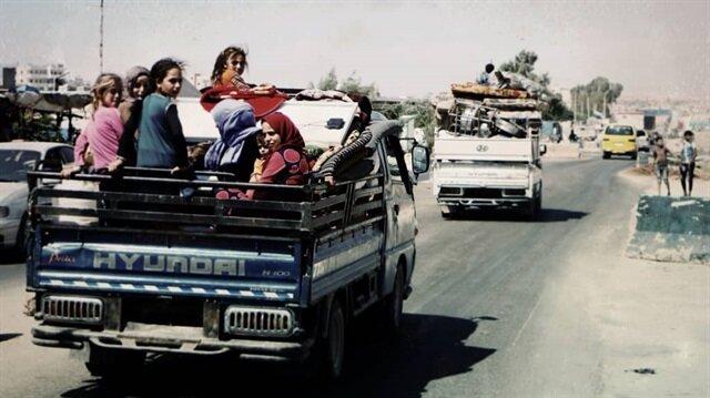 İdlib güneyinde sivil yerleşim birimlerine yönelik bombardımanlar yeni bir güç dalgası başlattı.