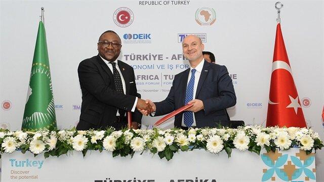 2016 yılında da Türkiye-Afrika Ekonomi ve İş Forumu düzenlenmiş ve çok sayıda Afrikalı iş adamı ve politikacı katılmıştı.