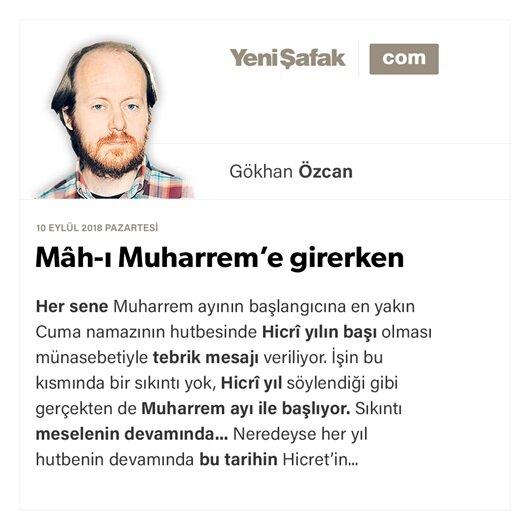 Mâh-ı Muharrem'e girerken