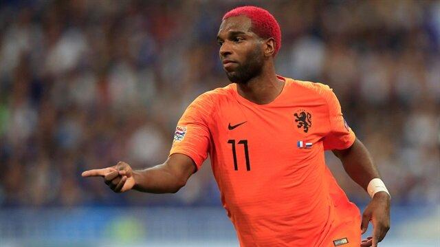 Babel Fransa ağlarına attığı golün ardından yaşadığı sevinç.