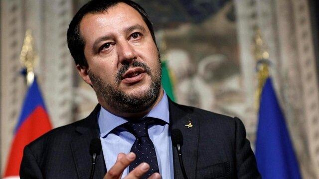 İtalya Başbakan Yardımcısı ve İçişleri Bakanı Matteo Salvini