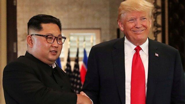 Kuzey Kore lideri Kim Jong Un ve ABD Başkanı Donald Trump, 12 Haziran'da Singapur'da bir araya gelmişti.