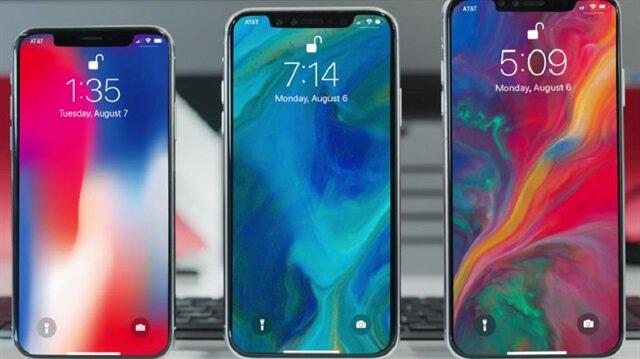 Yeni iPhone'ların tamamında iPhone X ile başlayan 'çentik' tasarımın hakim olacağı artık neredeyse kesinleşti.