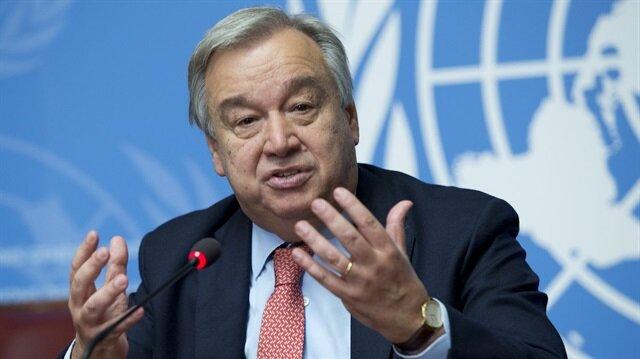 Birleşmiş Milletler Genel Sekreteri Antonio Guterres, bir araya gelerek iklim değişikliğine karşı harekete geçme çağrısında bulundu.