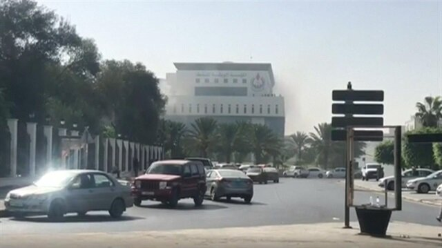 Attack on headquarters of Libyan state oil firm