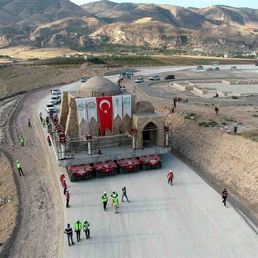 Ancient Islamic monastery in Turkey moved to new site