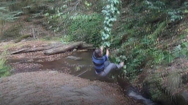 Karadenizli Tarzan'ın sarmaşıkla imtihanı