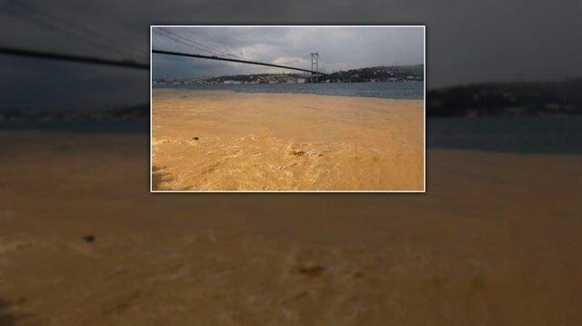 Boğaz'a çamur aktı