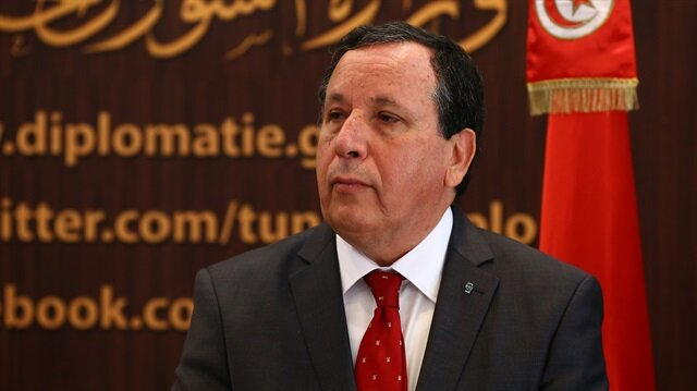 Tunisian Foreign Minister Khemaies Jhinaoui
