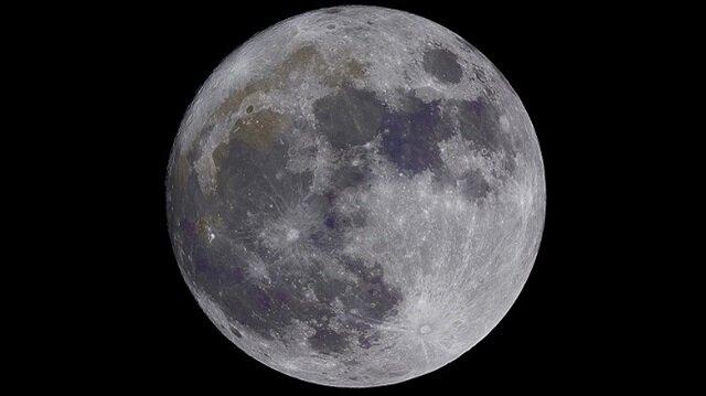 Dünya'nın tek doğal uydusu olan Ay'ın gezegenimize olan uzaklığı 384.400 km olarak açıklanıyor.
