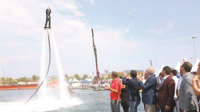 İstanbul Uluslararası Su Sporları Festivali sona erdi.