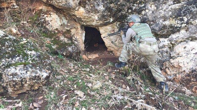 PKK üslerine operasyon