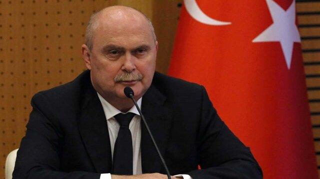 Türkiye'nin BM Daimi Temsilcisi Feridun Sinirlioğlu