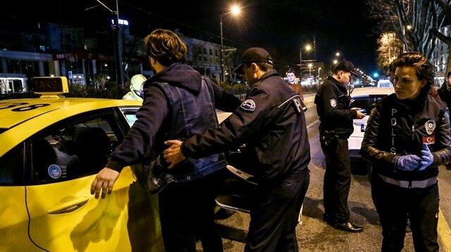 Polis, şüpheli kişilere yönelik GBT kontrolleri yapıyor
