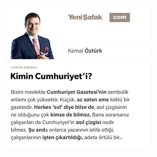 Kimin Cumhuriyet'i?