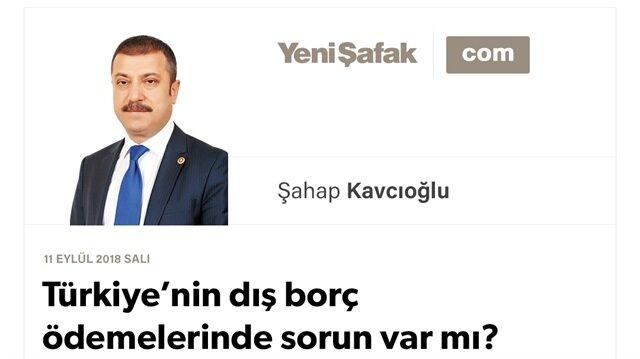 Türkiye'nin dış borç ödemelerinde sorun var mı?