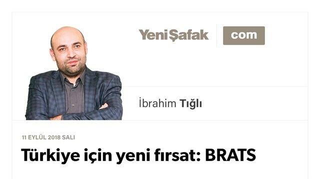 Türkiye için yeni fırsat: BRATS